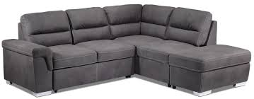 Sectional Sofa Bed Calgary Danielle 2 Piece Right Facing Sectional Grey Leon U0027s