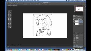 loose pencil sketch effect in photoshop cc tutorial brushes