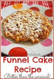 funnel cake recipe mommy blogs justmommies