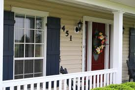 exterior house paint look i am going for tan yellow siding red