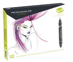 prismacolor marker set save on discount prismacolor premier brush marker set of 12 cool