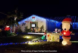 top 5 light displays in hastings ranch