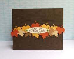best 25 handmade fall cards ideas on thanksgiving