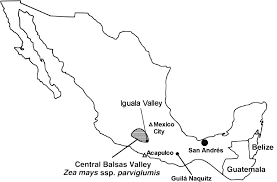 Mexico On Map by Late Pleistocene And Holocene Environmental History Of The Iguala