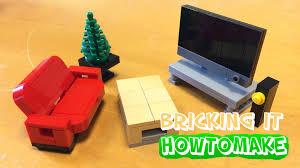 how to make a lego modern living room moc basic reupload youtube