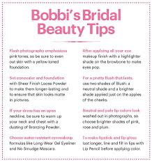 bridal makeup so beautiful full cosmetics list on insram bobbi brown e bridal beauty everything