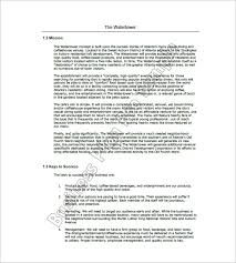 sle business plan on fashion designing cafe business plan template 14 free word excel pdf format