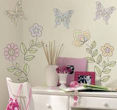 teenage girl wall stickers moncler factory outlets com bedroom beautiful flower and butterfly teenage girl bedroom wall decals decor on the white wall