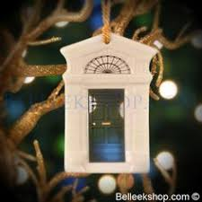 belleek tree lantern tree ornament belleek