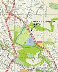 Road Map Of Scotland Directions To Reprocell Europe Glasgow