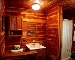 Log Home Decorating Tips Cabin Bathroom Ideascute Images About Log Home Bathroom Rustic