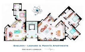 Big Floor Plans Accurate Floor Plans Of 15 Famous Tv Show Apartments The Big