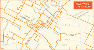 map of downtown los angeles downtown los angeles wilcon
