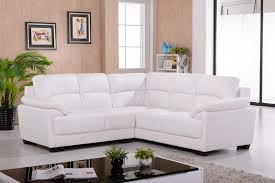 White Leather Corner Sofa Bed Furniture White Leather Sectional Sleeper Sofa Be Equipped With