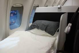 Airplane Bed Burn United Miles Burn Lufthansa B747 400 First Class