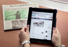 the new york times has new york times to impose fees for web readers on march 28 the