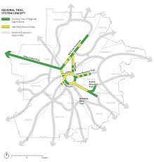 Marta Rail Map Improve Transit U0026 Non Single Occupant Vehicle Options U2013 The