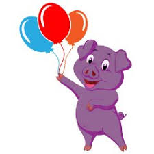 pig balloons purple pig balloons on thanks nintendo go is
