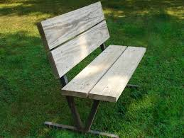 Wood Bench Plans Free by Commercial Quality Park Bench Plans Or Pattern Jacks Furniture Plans