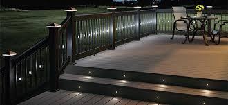 Solar Powered Fence Lights - solar powered deck lights roselawnlutheran