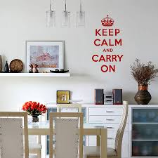 keep calm and carry on wall sticker quote by spin collective keep calm and carry on wall sticker quote
