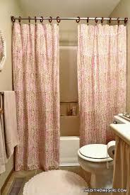 double panel shower curtains home design ideas