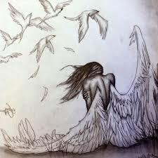 angel sketches in pencil angel pencil drawing pencil sketch
