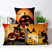 yellow cushion covers halloween throw pillow covers car covers