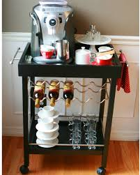 Coffee Maker Table 40 Ideas To Create The Best Coffee Station Decoholic