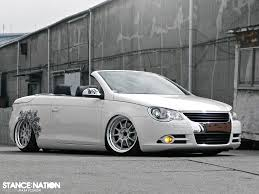volkswagen convertible eos white dumped vw eos stancenation form u003e function