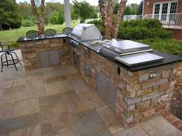outdoor bbq kitchen ideas backyard outdoor grill island plans gas grill on wood deck