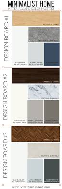 minimalist color palette 2016 minimalist home essentials materials and color palette interior