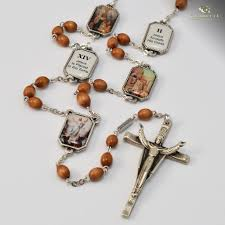 chaplet of the holy holy easter gold plated rosary ghirelli rosaries