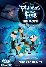 phineas and ferb the movie across the 2nd dimension disney wiki