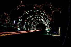 Outdoor Christmas Lights Decorations by Glittering Lights At Las Vegas Motor Speedway