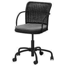 Ikea Chair Gregor Swivel Chair Black Svanby Gray Ikea 100 Nail Station