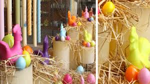 easter egg display easter hen and egg decorative candles thingsaboutcandles