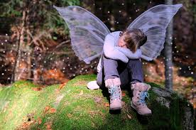 free images forest wing autumn child thoughtful