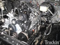 1982 chevy k5 blazer 6 0l engine swap truckin u0027 magazine