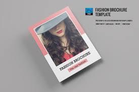 fashion lookbook brochure template on student show