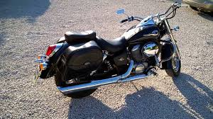 honda shadow vt750c ace 2000 factory exhaust pipes youtube
