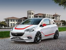 opel modified opel corsa by irmscher