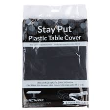 Elasticized Table Cover Creative Converting 702000 Stay Put 30