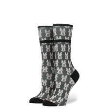mini minnies womens disney socks stance