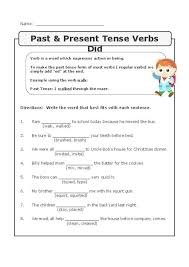 23 best verbs worksheets images on pinterest language