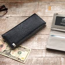 Sho Wallet qoo10 omnia genuine leather 100 korea mens wallet land