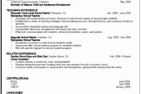 examples of teachers resumes resume example and free resume maker