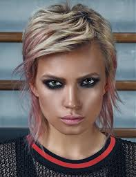 a short blonde hairstyle from the inspiration book ii u2013 sport