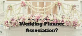 a wedding planner q should i join a wedding planner association wfal391