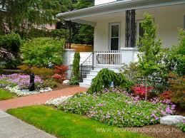 collection unique front yard landscaping ideas photos best